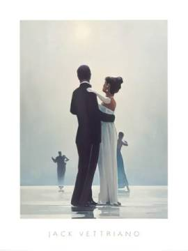 Kunstdruck Poster: Jack Vettriano, Dance Me To The End Of Love