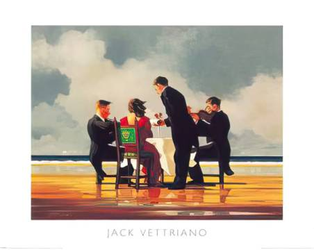 Kunstdruck Poster: Jack Vettriano, Elegy for The Dead Admiral