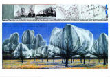 Christo und Jeanne-Claude - Wrapped Trees Nr. VI (Riehen)
