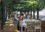 Max Liebermann - The Terrace at the Restaurant Jacob in Nienstedten on the Elbe, 1902