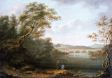 Anonymous - English Landscape with Fishermen