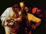 Michelangelo Merisi da Caravaggio - The Incredulity of St. Thomas, 1602-03