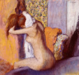 After the Bath, Woman Drying her Neck, 1898 von Edgar Degas
