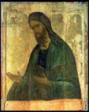 Andrei Rublev - Icon of St. John the Baptist