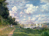 The Marina at Argenteuil, 1872 von Claude Monet