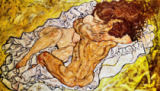 Egon Schiele - The Embrace, 1917