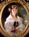 Franz Xavier Winterhalter - Portrait of Sophie Troubetskoy (1838-96) Countess of Morny, 1863