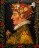 Giuseppe Arcimboldo - Spring, from a series depicting the four seasons, 1573