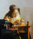 Jan Vermeer van Delft - The Lacemaker, 1669-70