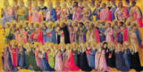 Fra Angelico - The Forerunners of Christ with Saints and Martyrs, 1423-24