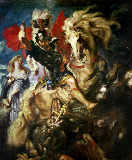Peter Paul Rubens - St. George and the Dragon, c.1606