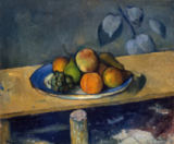 Paul Cézanne - Apples, Pears and Grapes, c.1879