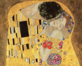 Detail of The Kiss, 1907-08 von Gustav Klimt