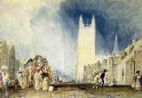Joseph Mallord William Turner - Stamford, c.1828