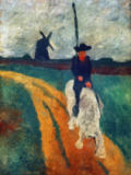 Paula Modersohn-Becker - Don Quichote