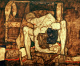Egon Schiele - Blinde Mutter