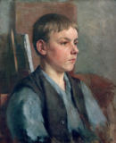 Otto Ubbelohde - Study of a Young Boy