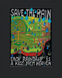 Friedensreich Hundertwasser - Save the Rain