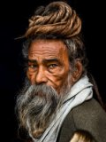 Rakesh J.V - Portrait of a Sadhu...