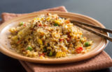 Ekaterina Fedotova - Fried Rice with Vegetables and fried eggs