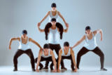 Volodymyr Melnyk - Group of men and women dancing hip hop choreography